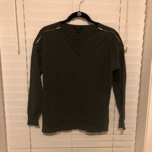J Crew Zipper Sweater